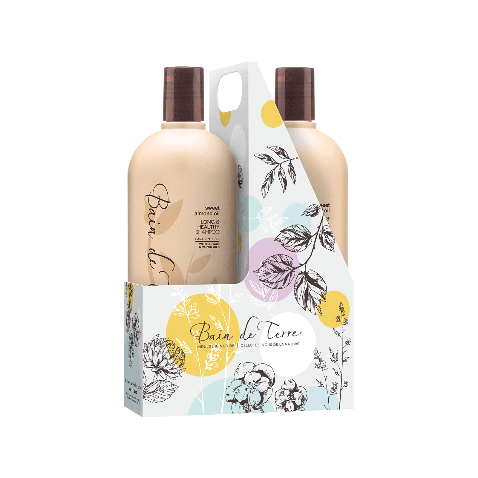Sweet Almond Oil Shampoo, Conditioner Liter Duo