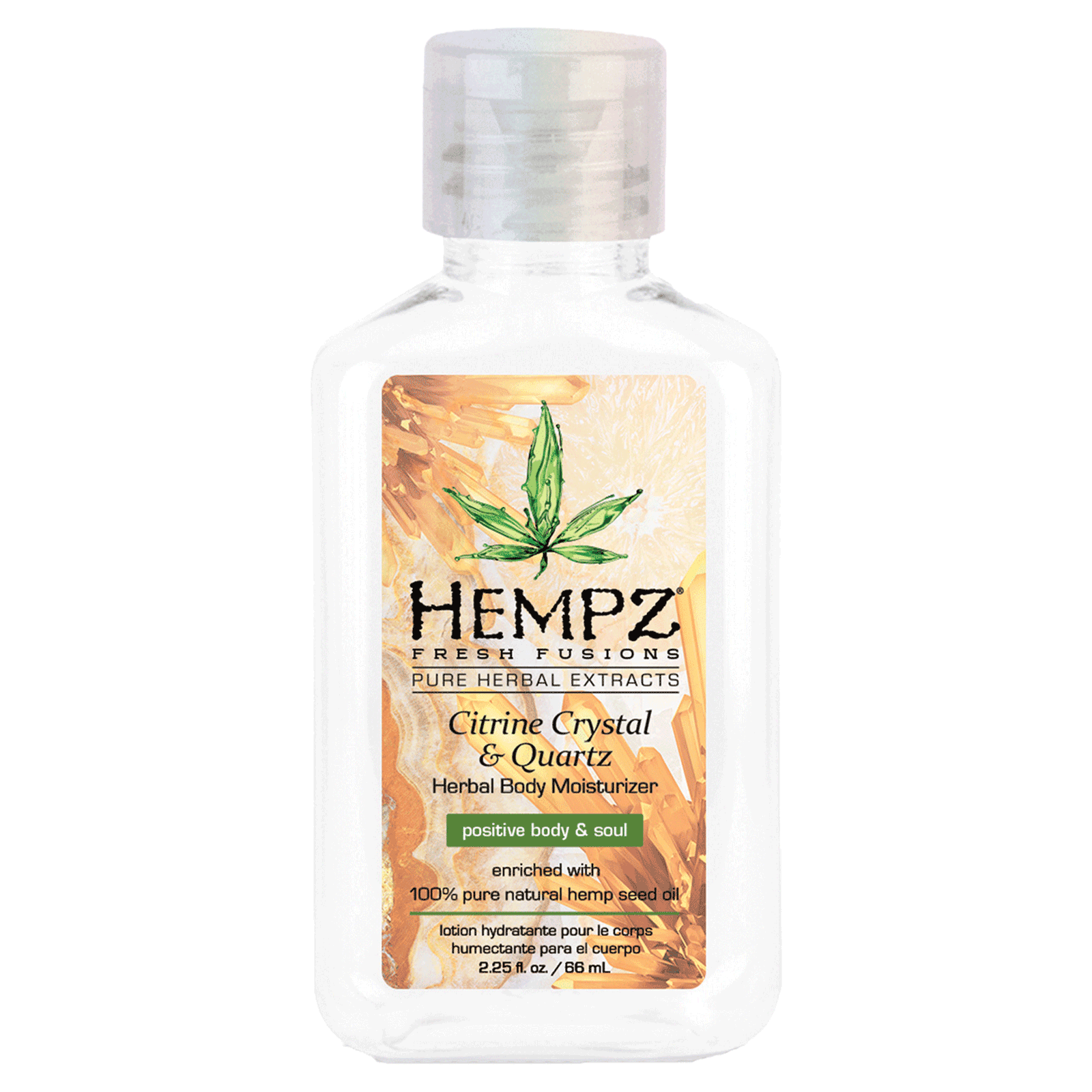 Citrine Crystal & Quartz Body Moisturizer