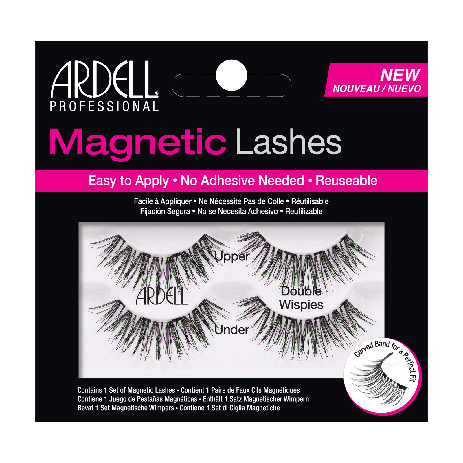 Magnetic Strip Lash Double Wispies