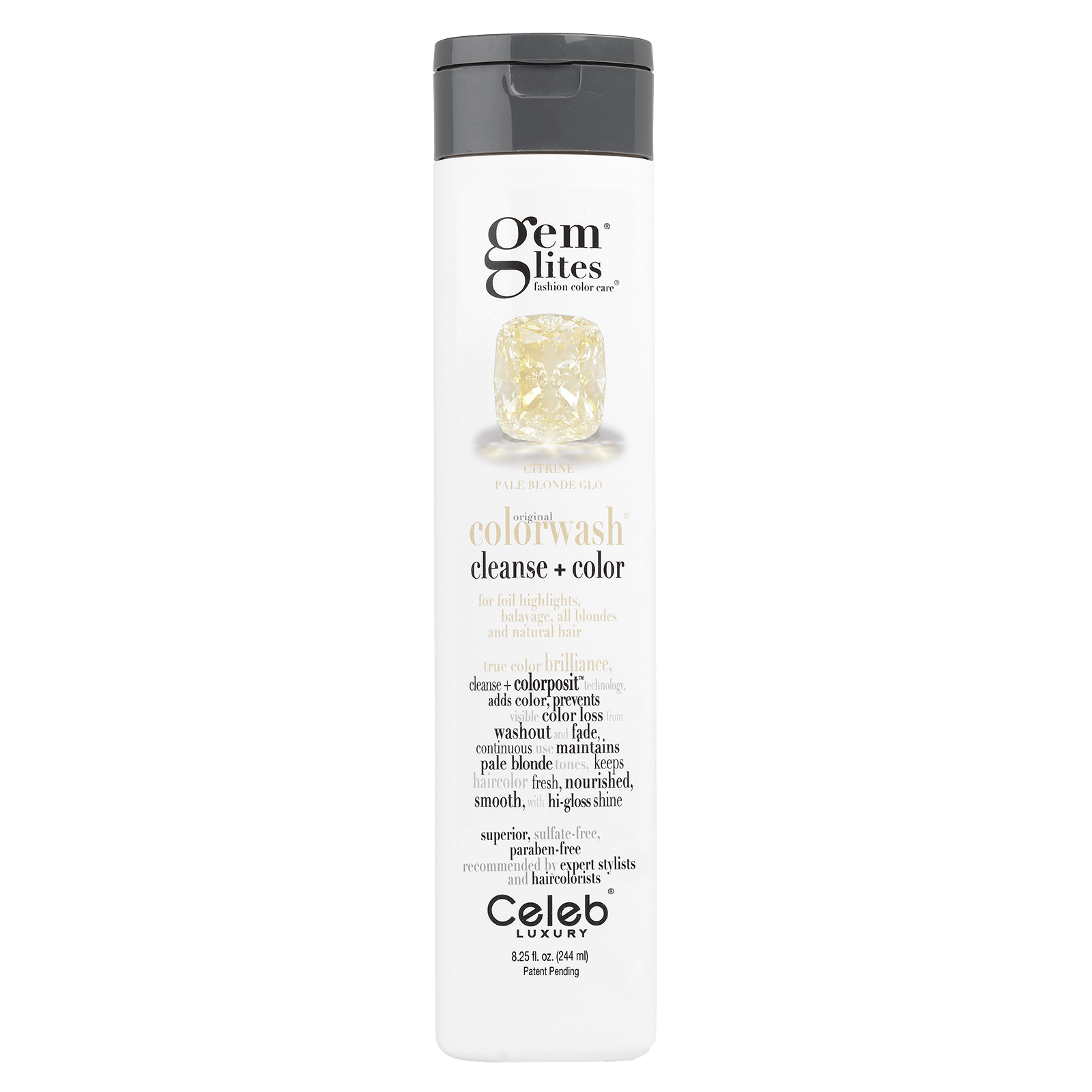 Gem Lites Citrine Colorwash