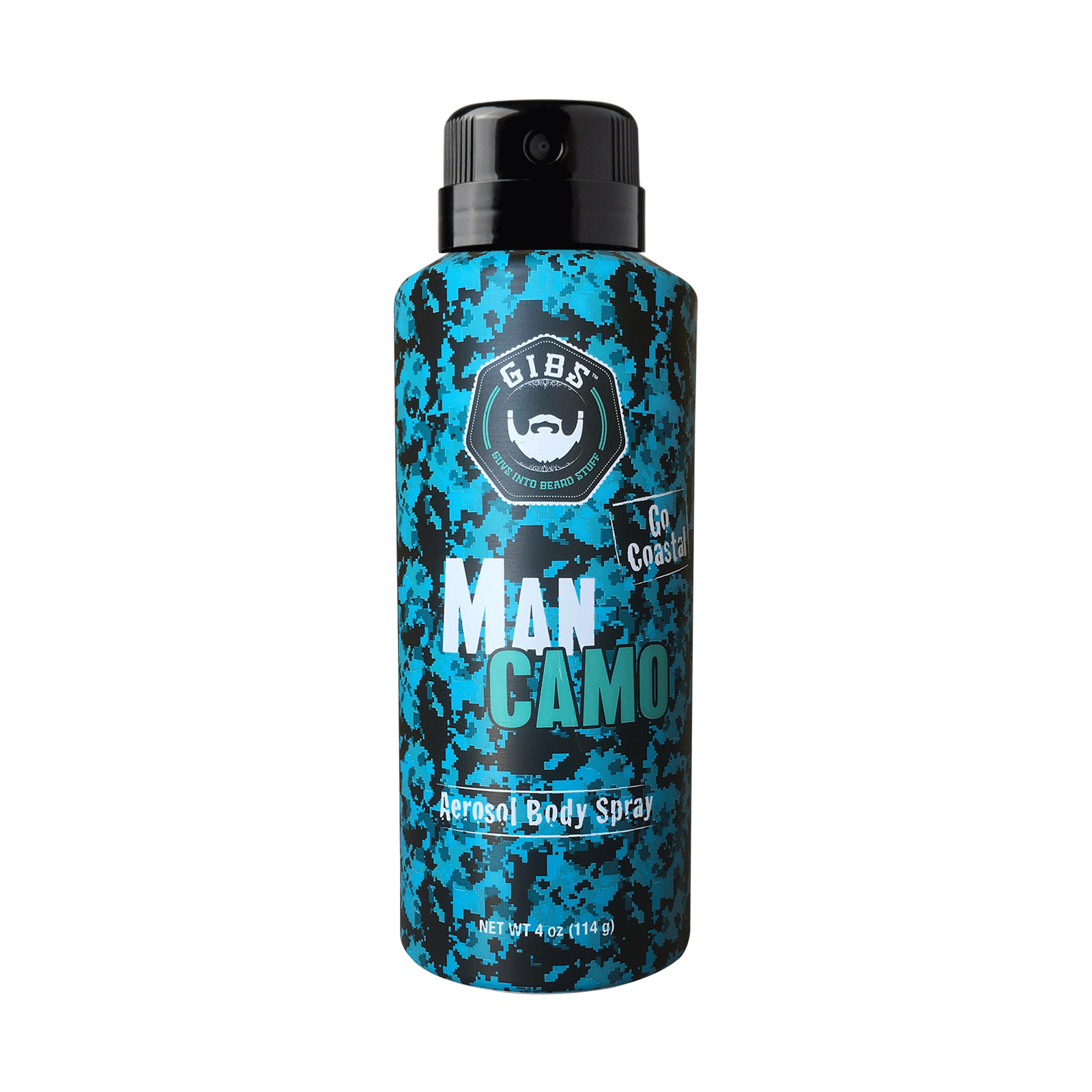 Man Camo Aerosol Body Spray