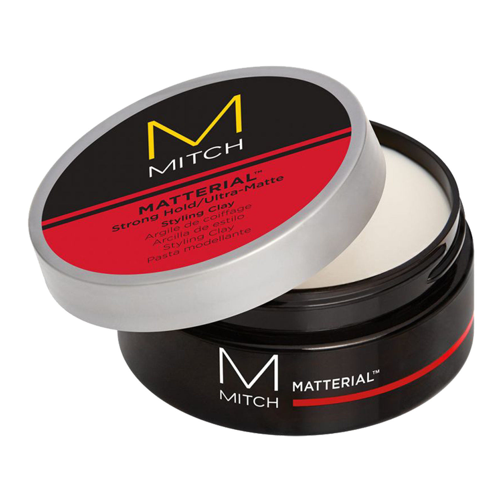 Mitch Matterial >> Matterial Strong Hold - Ultra Matte Styling Clay - John ...