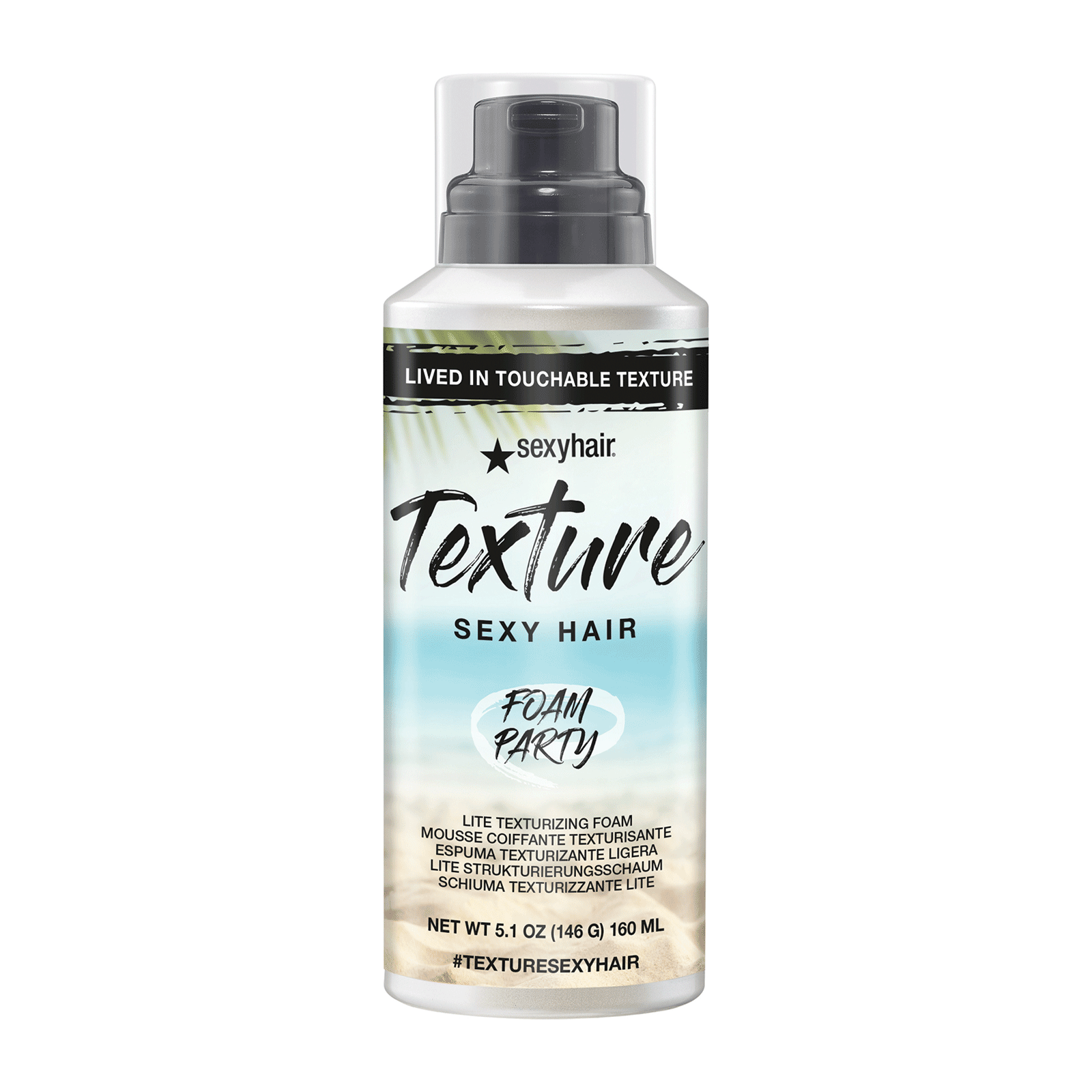 Texture Sexy Hair Foam Party Lite Texturizing Foam