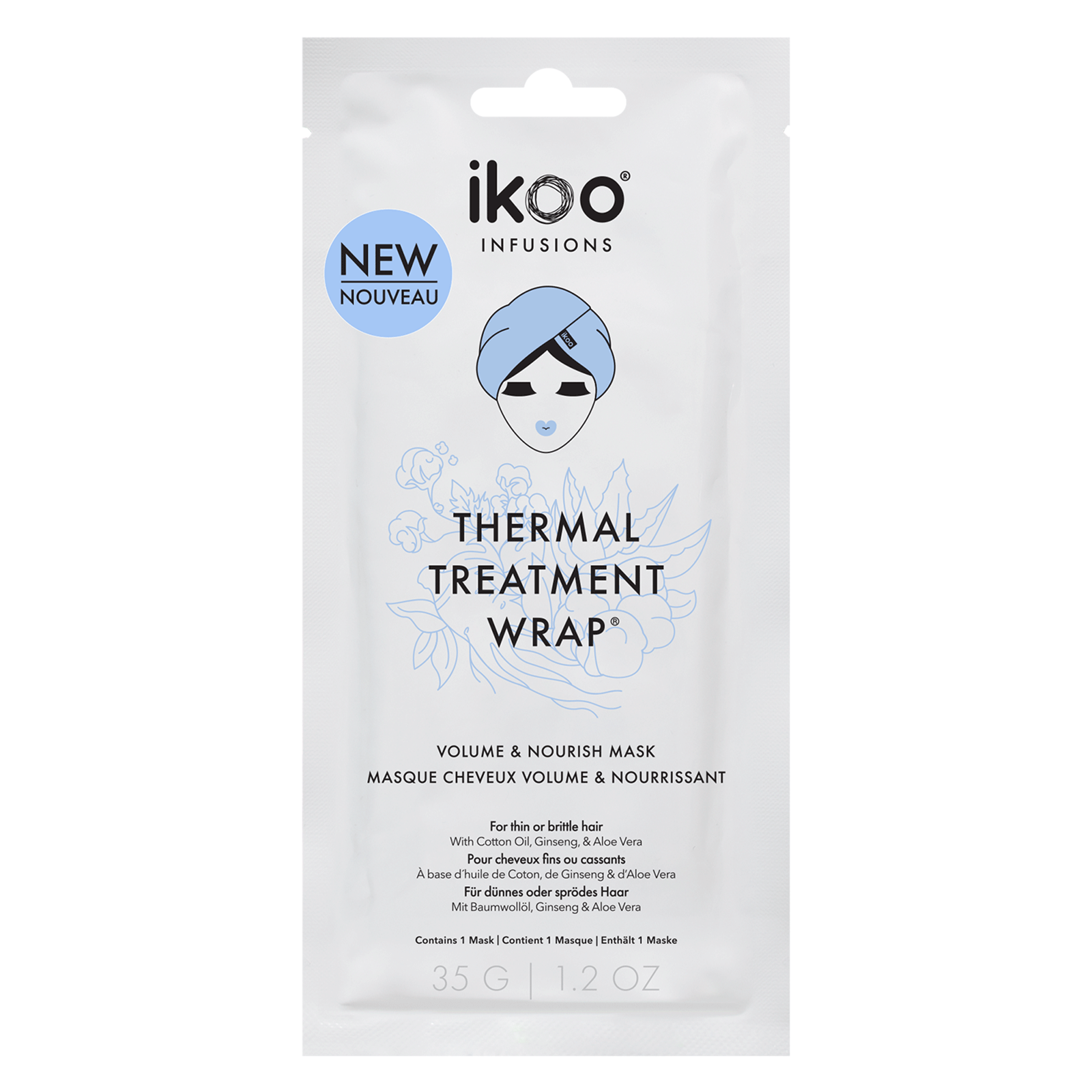 Thermal Treatment Wrap Volume & Nourish