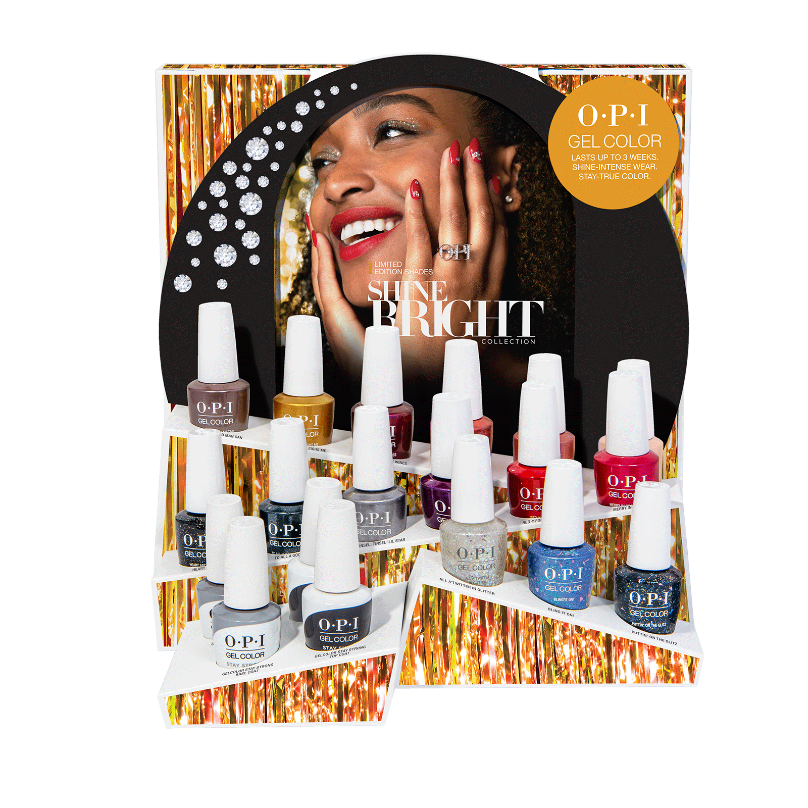 Shine Bright Gel Color 19-Piece Display