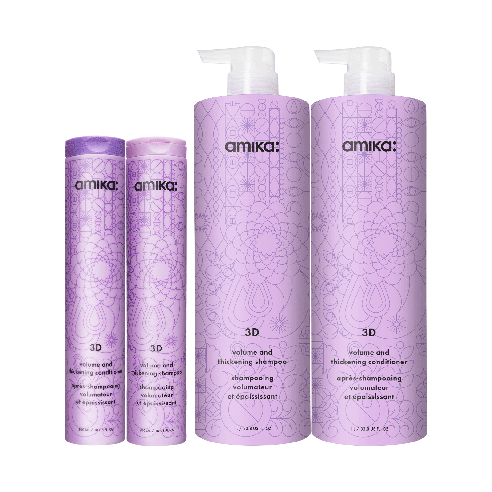 3D Volume & Thickening Shampoo, Conditioner Salon Offer