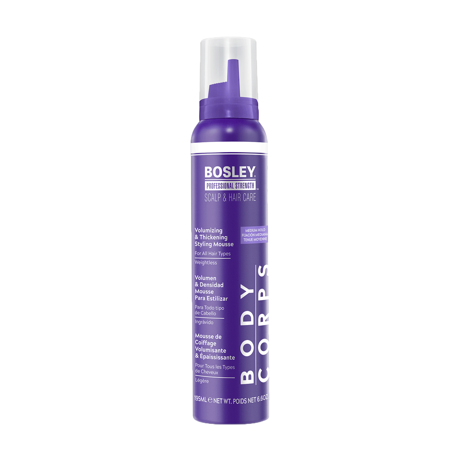 Volumizing & Styling Mousse