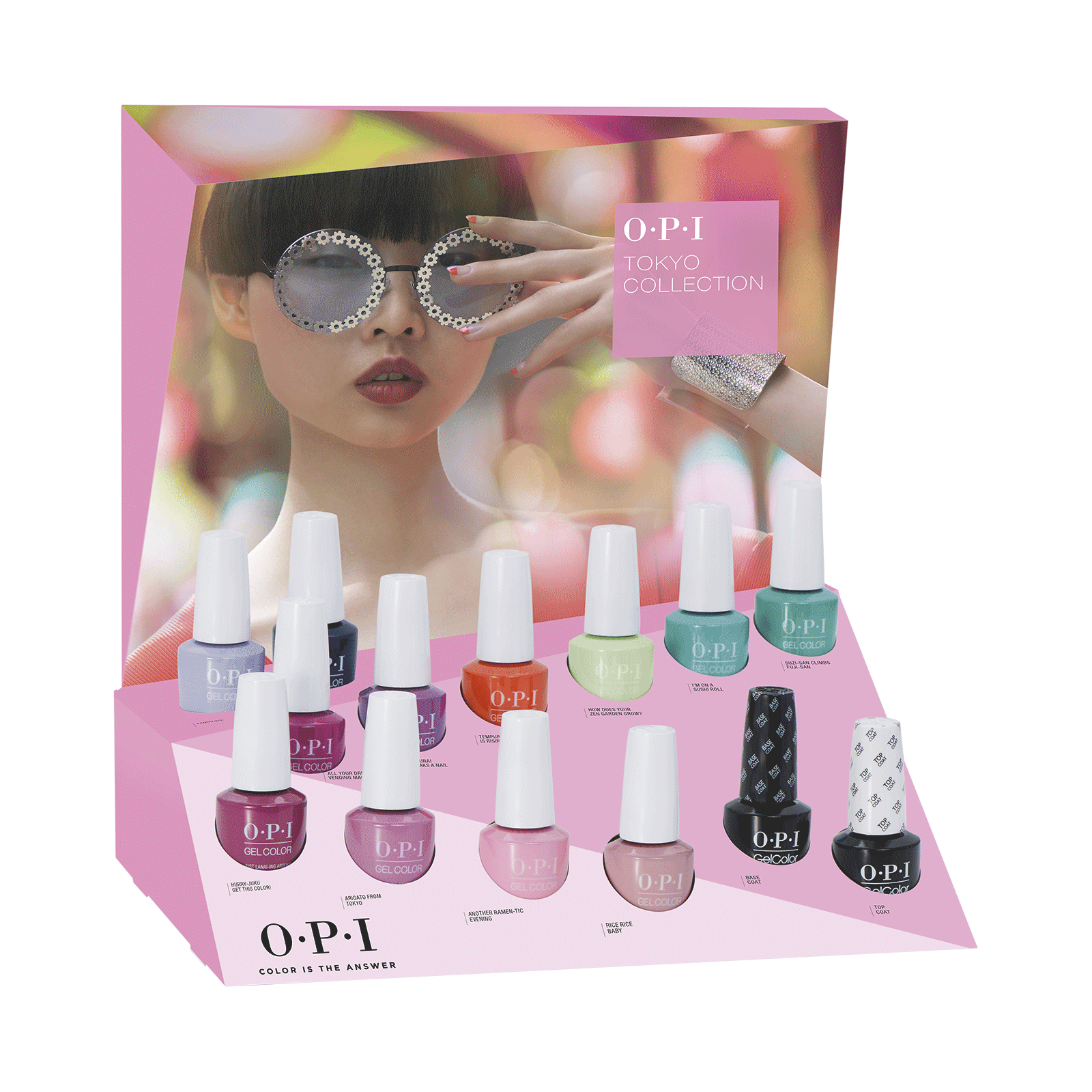 GelColor Tokyo Collection - 14 Piece Display