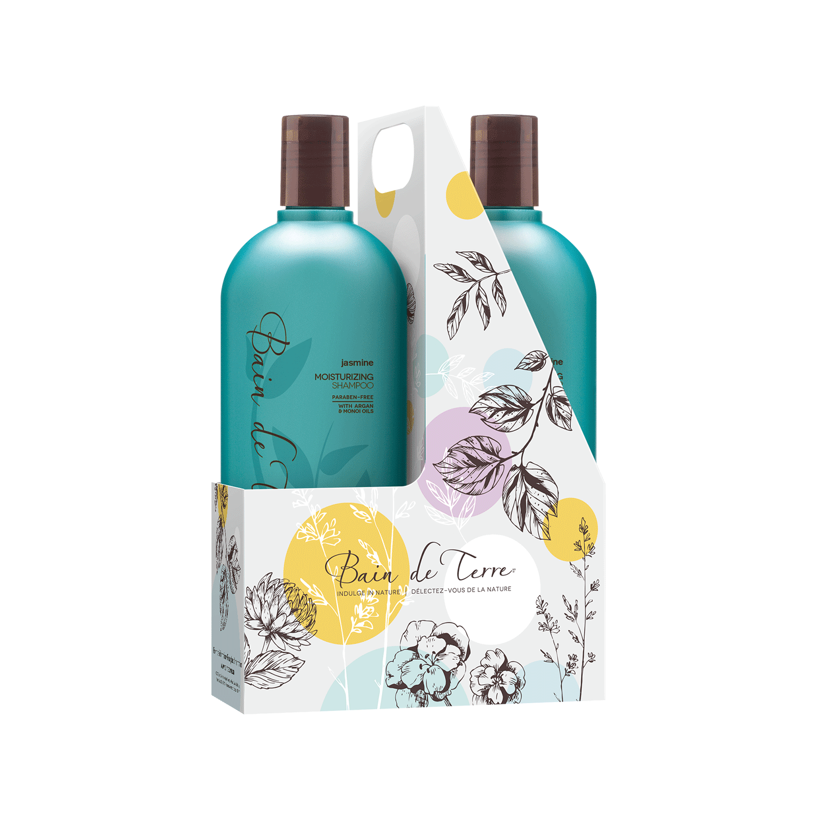 Jasmin Shampoo, Conditioner Liter Duo