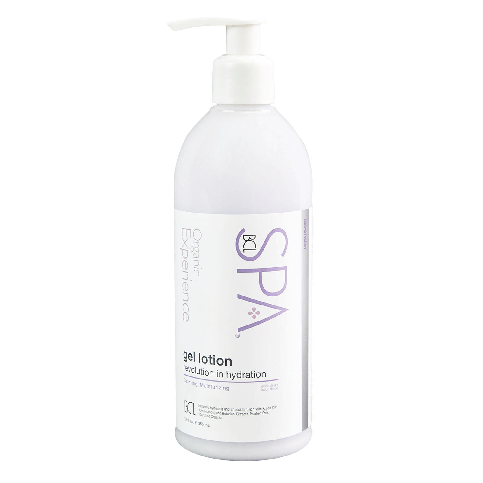 BCL Spa Lavender and Mint Gel Lotion