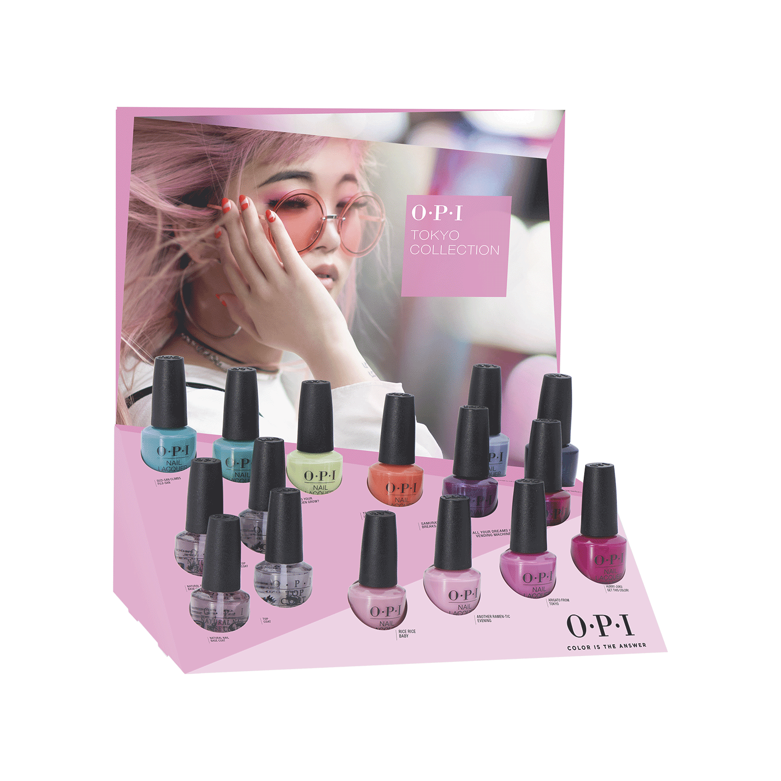Tokyo Nail Lacquer - 16 Piece Display