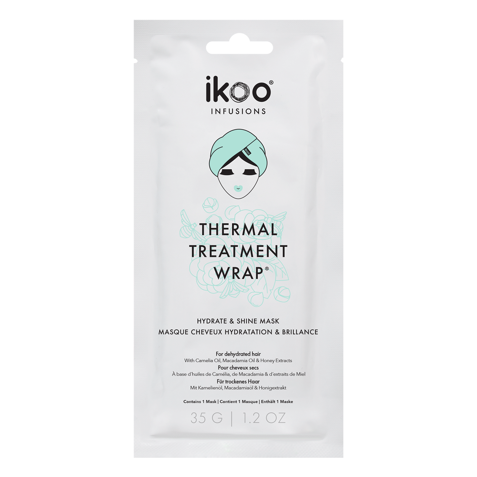 Thermal Treatment Wrap Hydrate & Shine Hair Mask