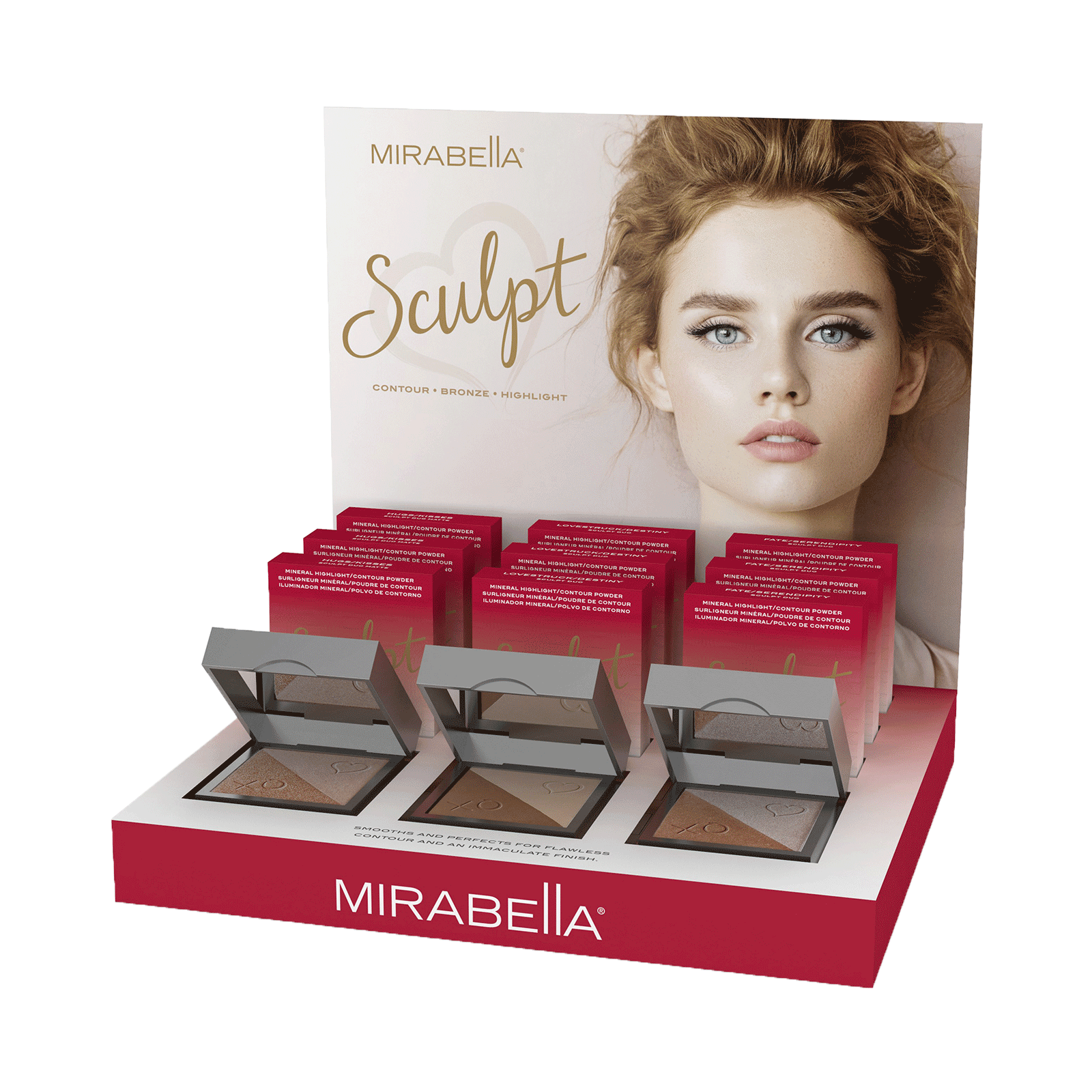Sculpt Duo 9 Piece Display