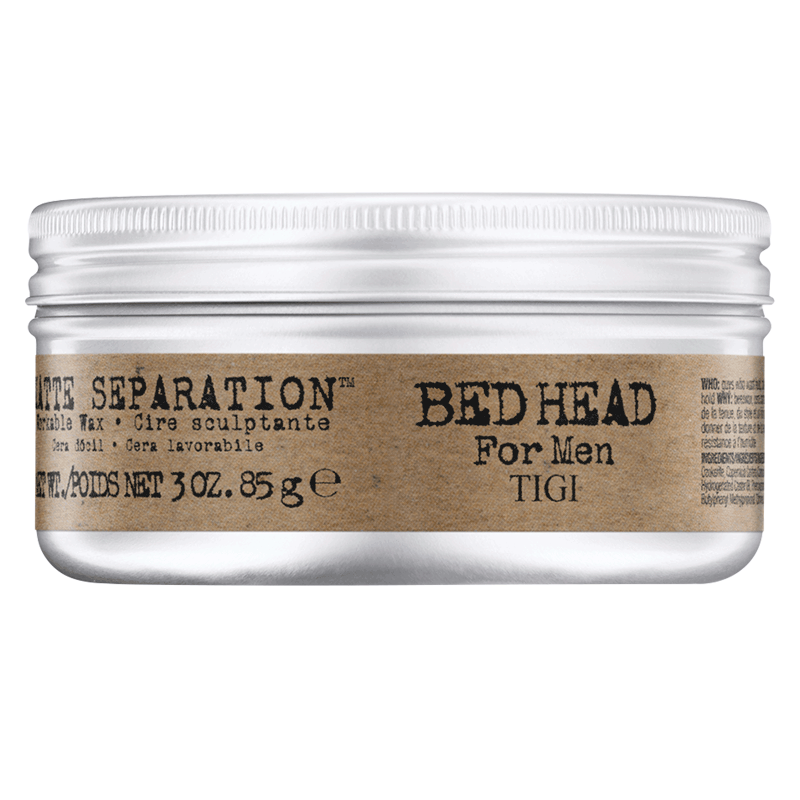 Bed Head for Men Matte Workable Wax