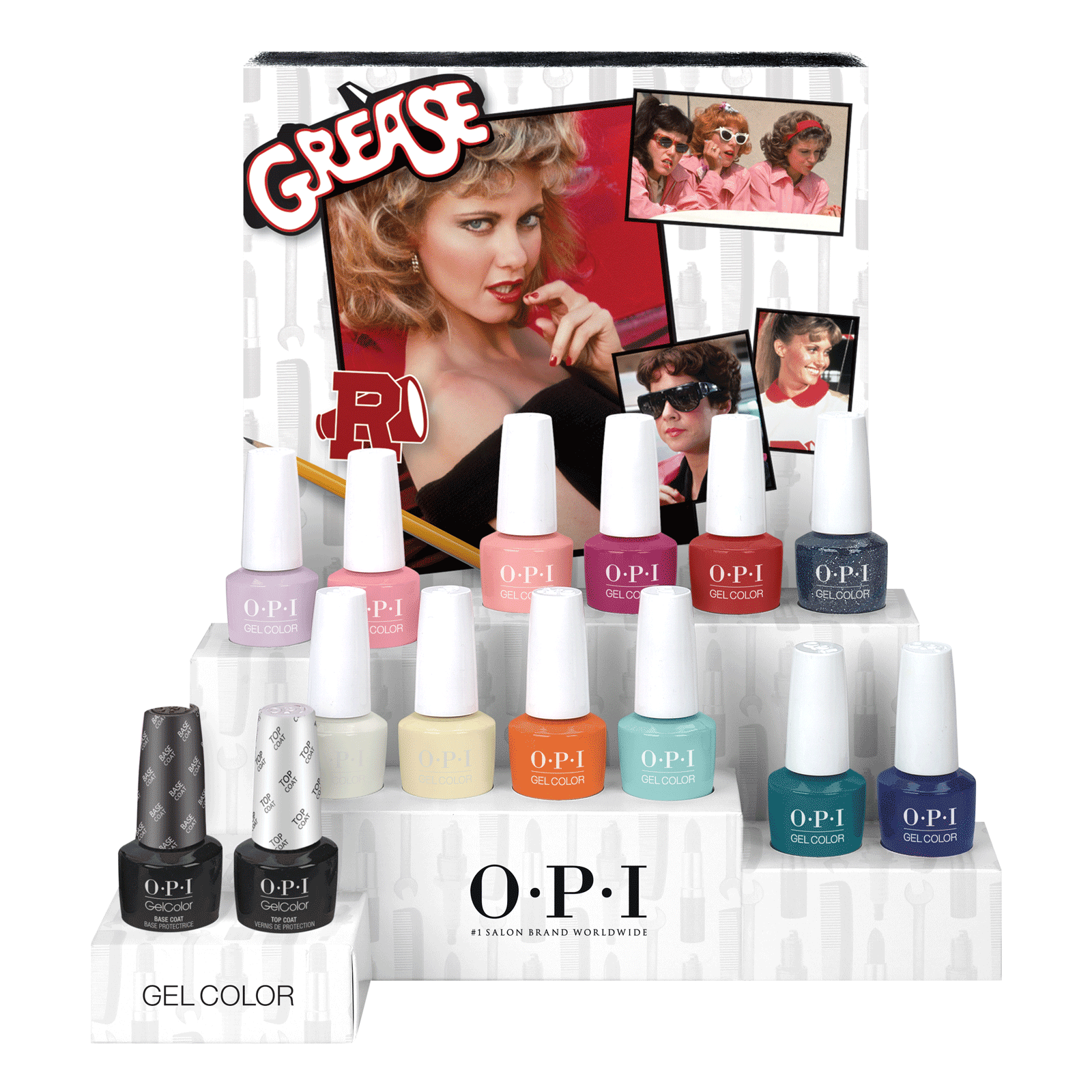 GelColor Grease Collection - 14 Count Display