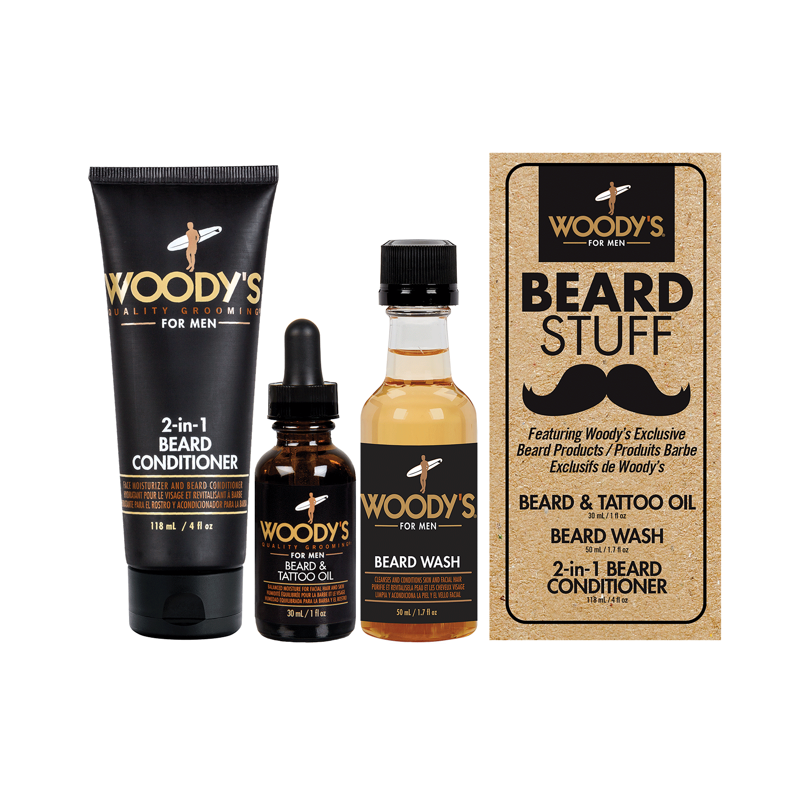 Beard Stuff Kit