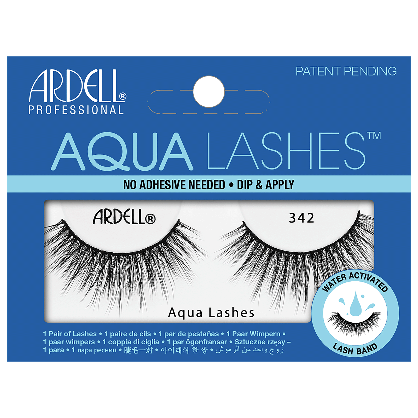 Aqua Water Activated Strip Lashes #342