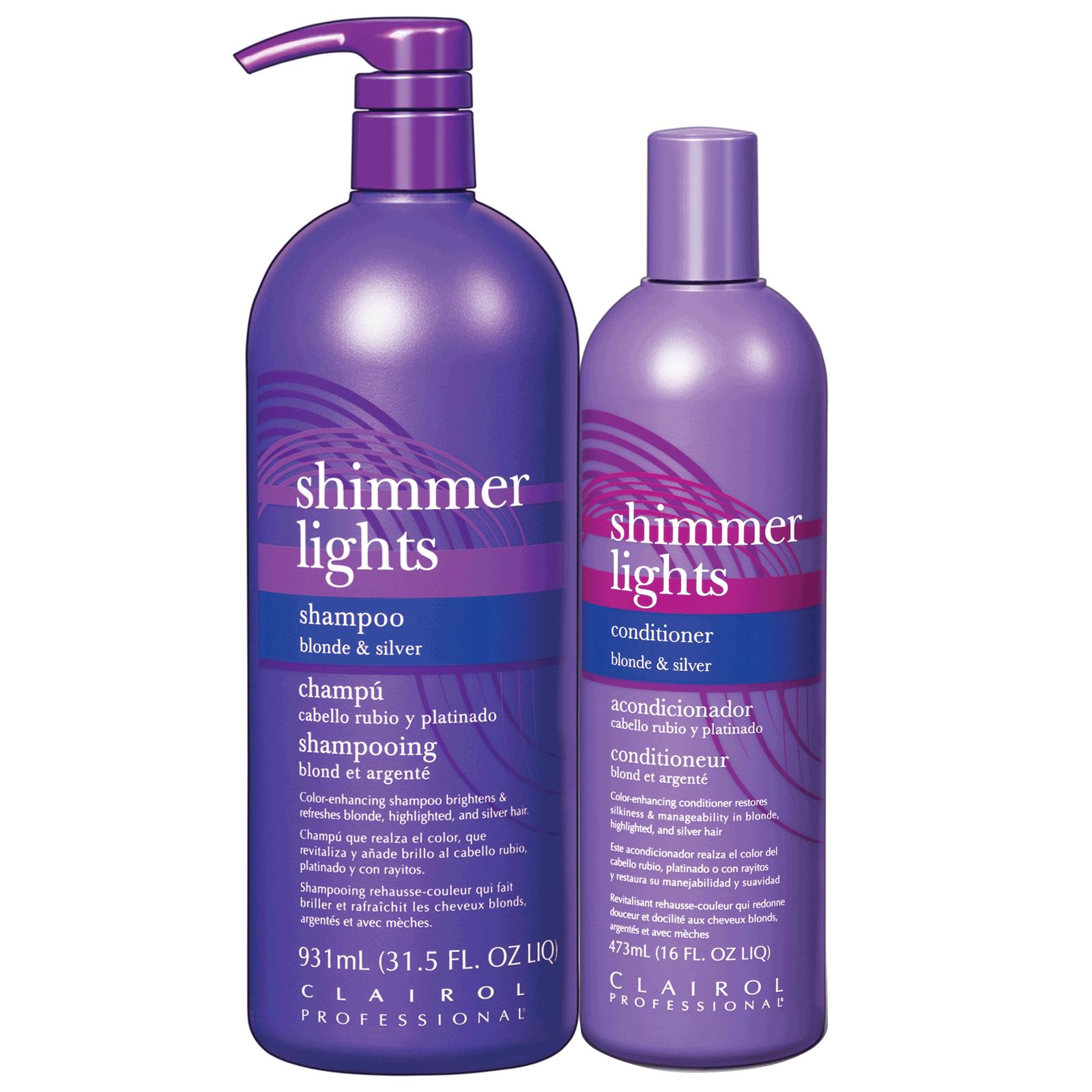 Shimmer Lights Shampoo Amp Conditioner Duo Clairol Cosmoprof