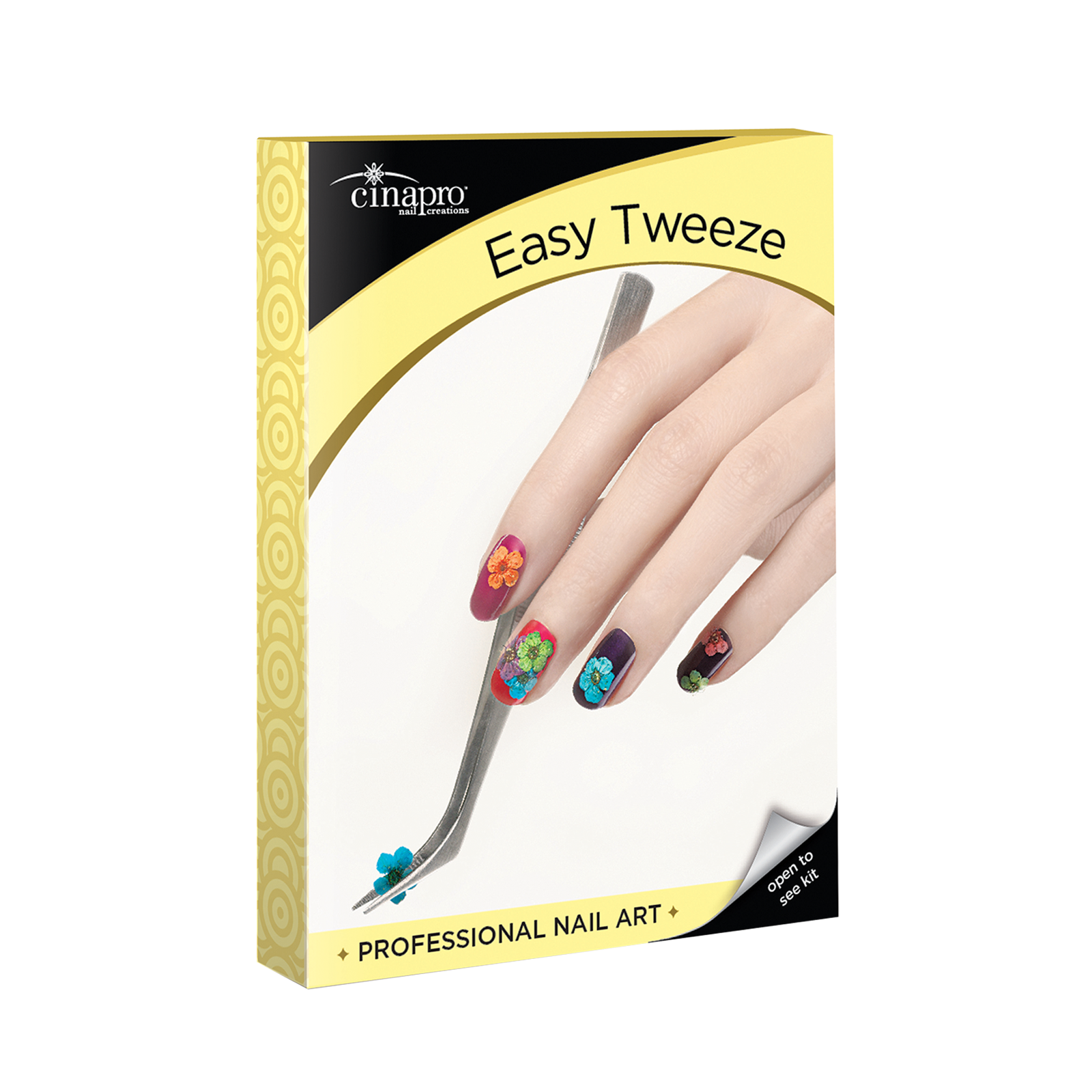CinaPro Professional Nail Art - Easy Tweeze