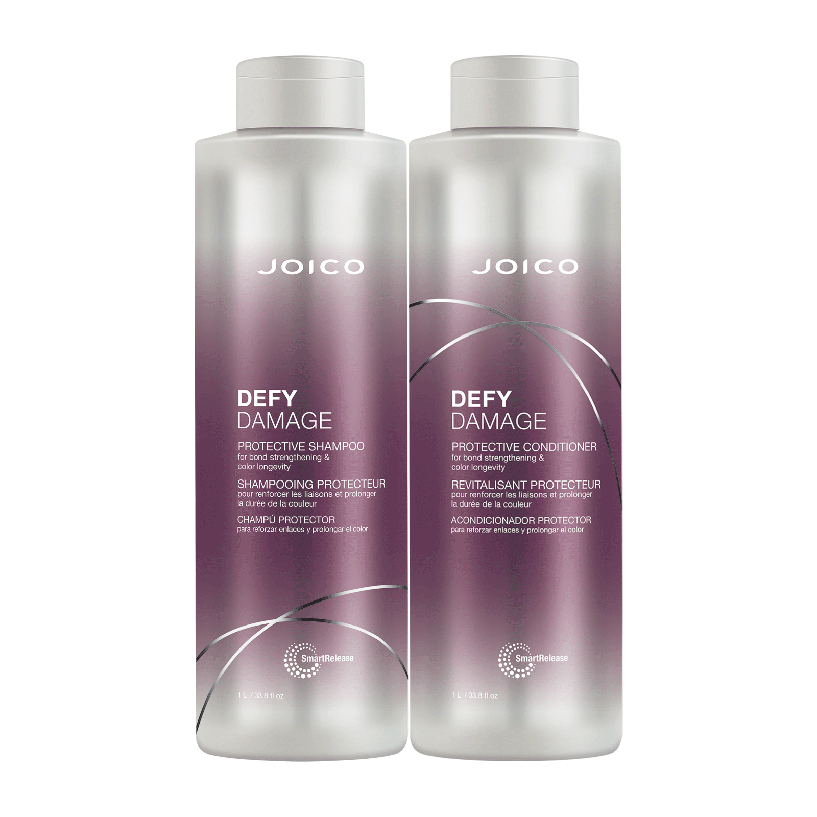 Defy Damage Protective Shampoo & Conditioner Liter Duo