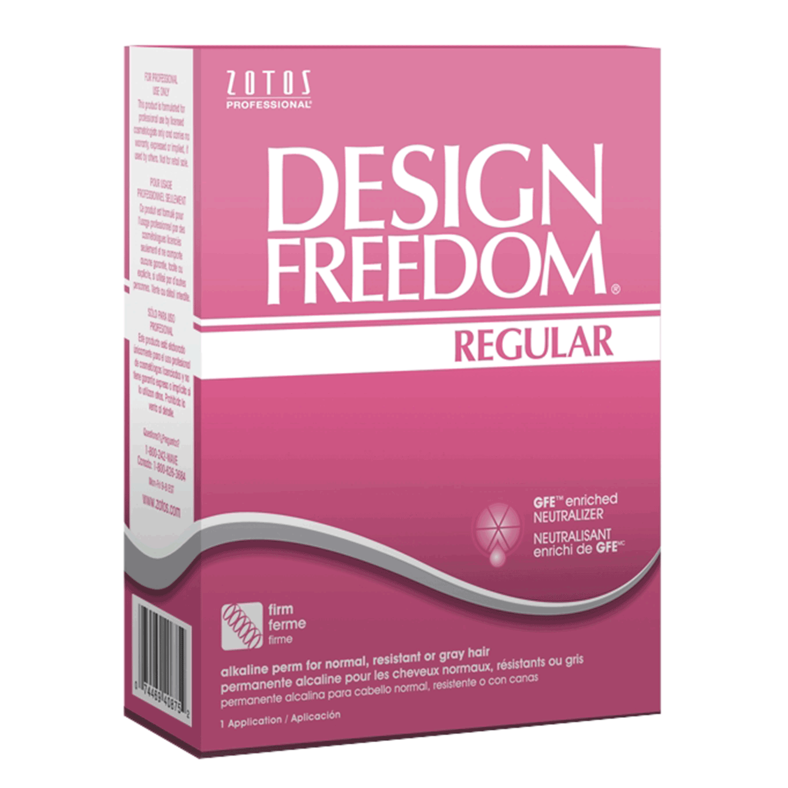 Design Freedom Conditioning Perm for Normal Hair