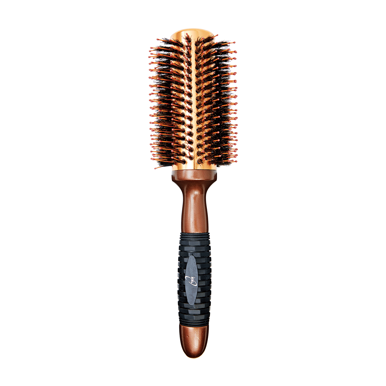 Coppery Aluminum Thermal Round Brush 1 1/4""