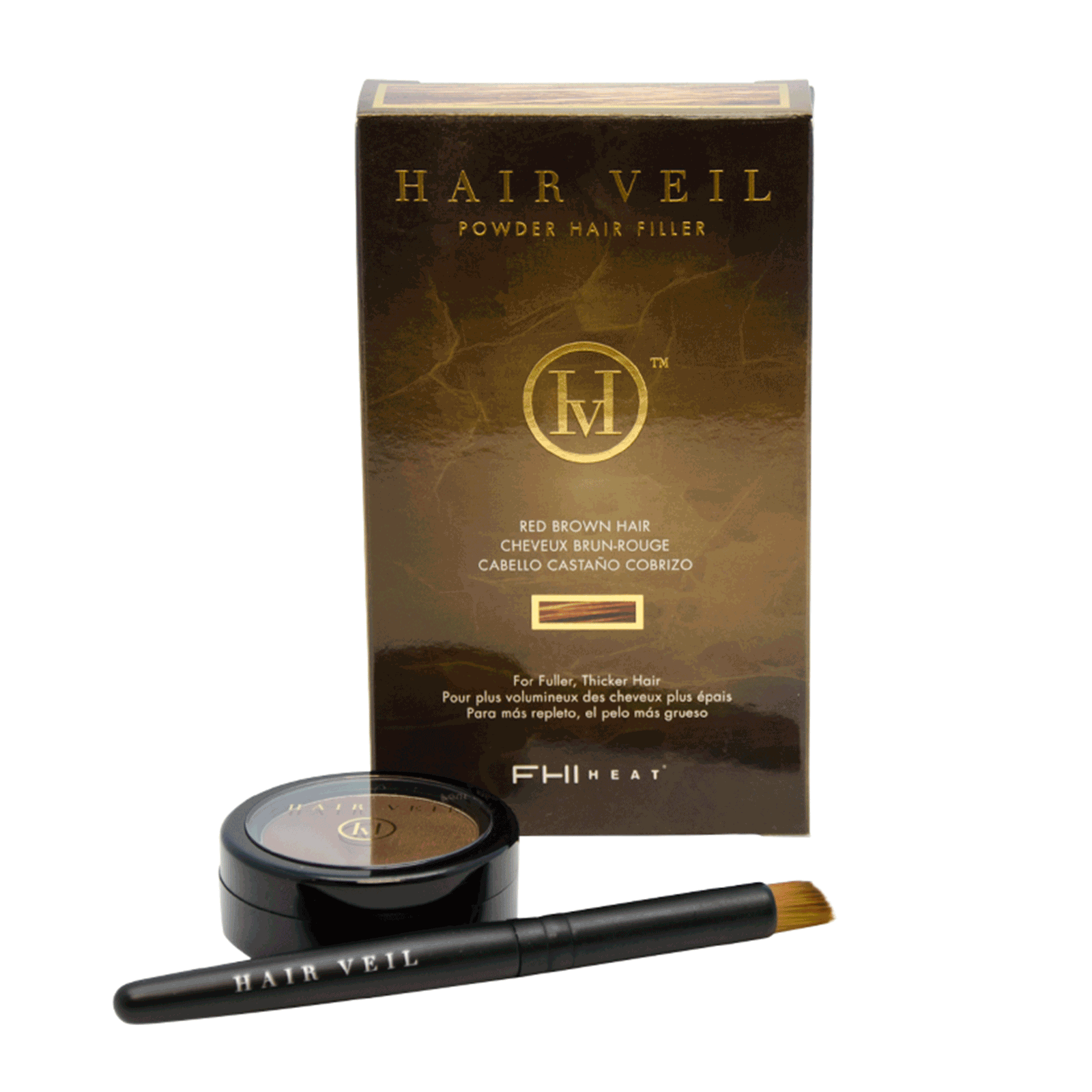 Hair Veil Powder Hair Filler - Red Brown