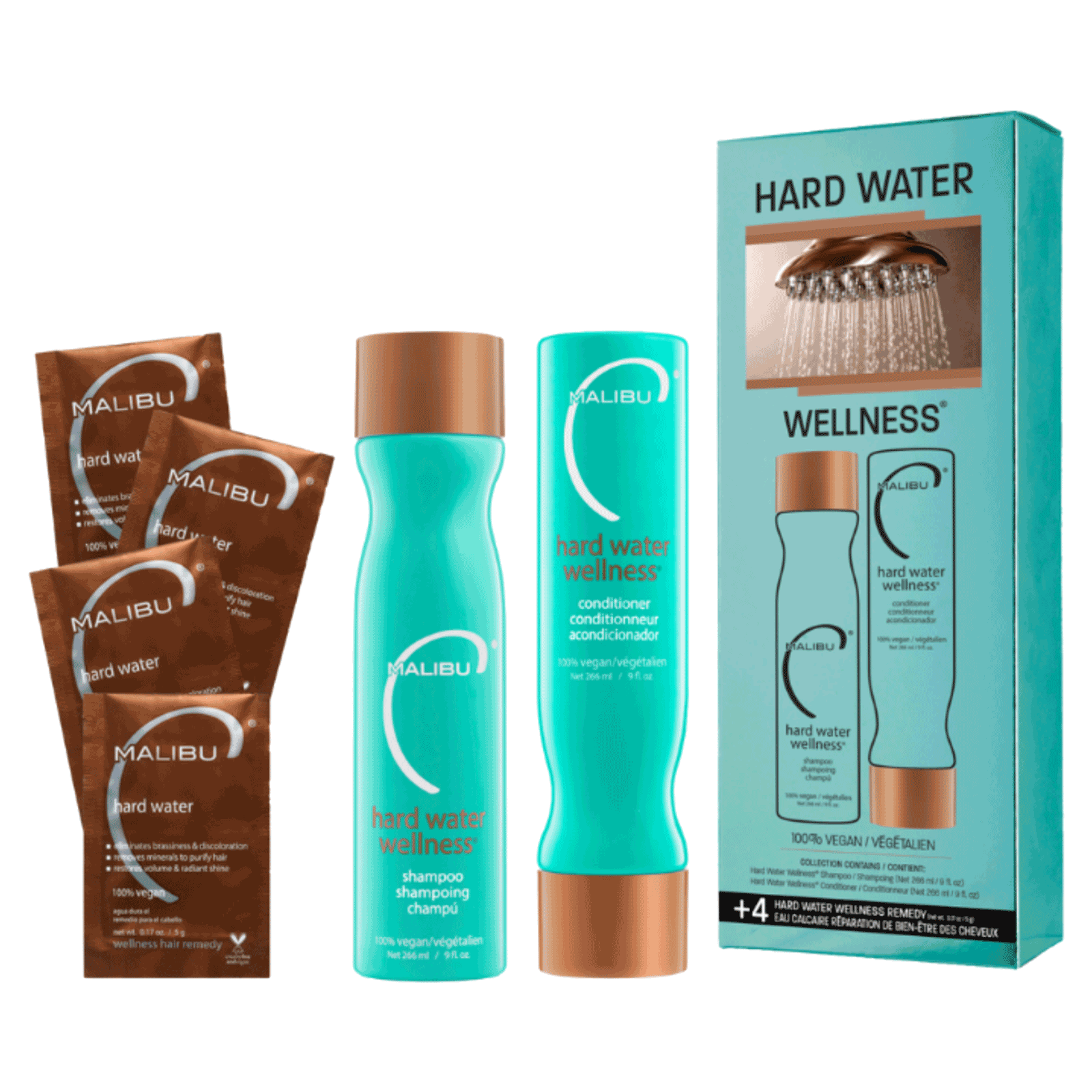 Malibu C® Hard Water Wellness Kit