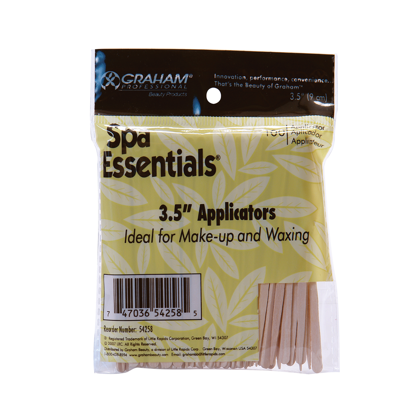 Wood Applicators for Makeup Waxing