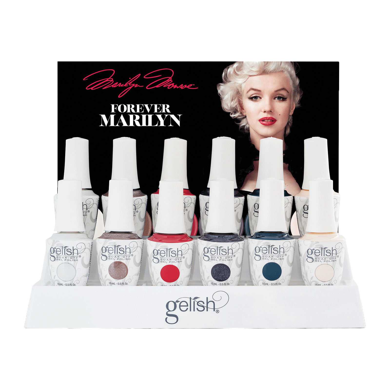Forever Marilyn Collection - 12 Piece Display