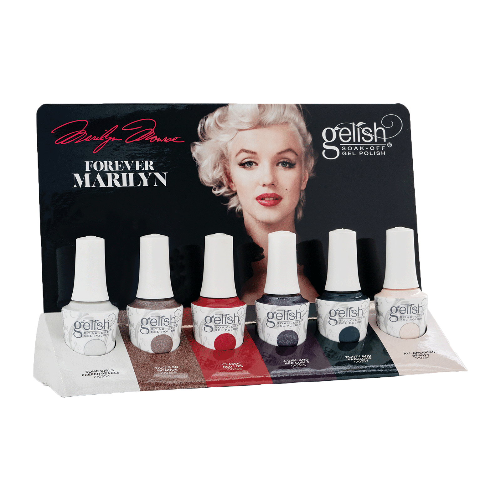 Forever Marilyn Collection - 6 Piece Display